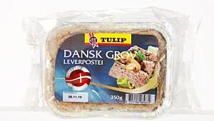 Tulip Dansk Grov leverpostei