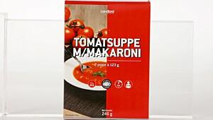 Landlord Tomatsuppe med makaroni
