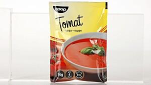 Coop Tomatsoppa (gul topp)