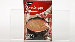 Coop Tomatsuppe med makaroni