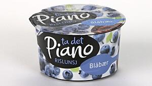 Piano Rislunsj Blåbær