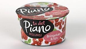 Piano Rislunsj Bringebær & rips