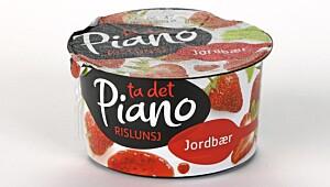 Piano Rislunsj Jordbær