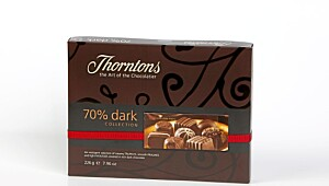 Test av Thorntons konfekt