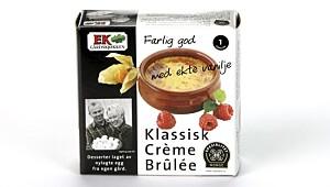 Ek Klassisk Crème Brûlée