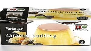 Ek Karamellpudding med karamellsaus