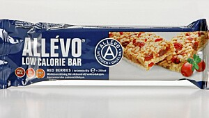 Allévo low calorie bar Red Berries