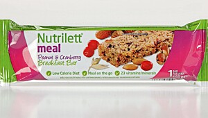 Nutrilett Meal Peanut & Cranberry Breakfast bar