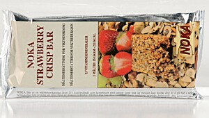 Noka Strawberry crisp