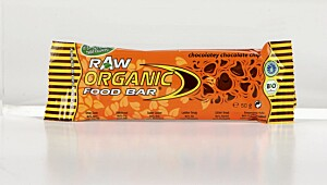 Raw Organic Food Bar Chocolate chip