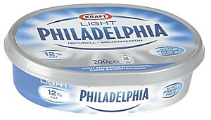 Kraft Philadelphia naturell light