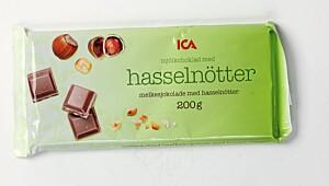 ICA Mjölkchocklad med hasselnötter