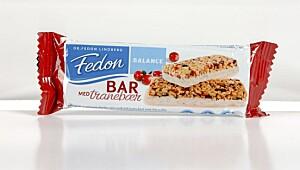 Fedon Balance Bar med tranebær