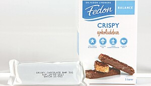 Fedon Balance Crispy sjokoladebar