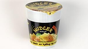 Luxus Nudler med smak av kylling og sopp