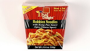 Thai Delight Hokkien Noodles with Kung Pao Sauce