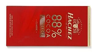 Hachez 88 % cocoa premier cru