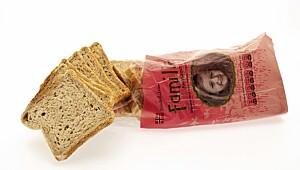 TESTENS TAPER: Familie halvgrovt brød