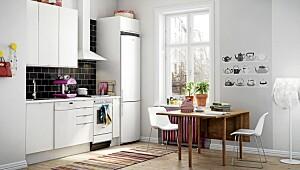 Vinga hvit er Marbodals billigste kjøkkenmodell