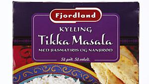Fjordland Kylling Tikka masala