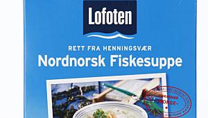 Lofoten Nordnorsk fiskesuppe