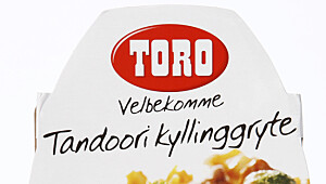 Toro Tandoori kyllinggryte