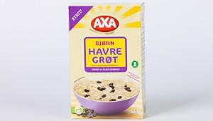 Testvinneren: Axa Bjørn Havregrøt Rosin & vaniljesmak