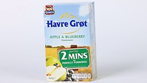 Quaker Havre Grøt Apple & Blueberry