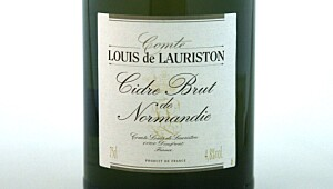 Lauriston Cidre Brut de Normandie