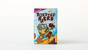 Bokstavkjeks - kakao