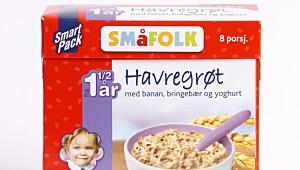 Småfolk Havregrøt, porsjonspakker