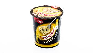Toro Rett i koppen potet med kjøtt og gressløk