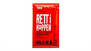 Toro Rett i koppen tradisjonell tomatsuppe med kjøtt