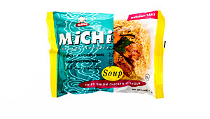 Michi instant noodles – smak av stekt løk og kylling (pose)
