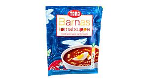 Toro Barnas tomatsuppe – med 6 grønnsaker og fiberpasta