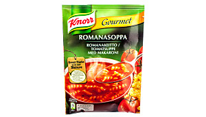 Knorr Gourmet tomatsuppe med makaroni