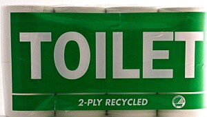 Toilet 2-ply recycled