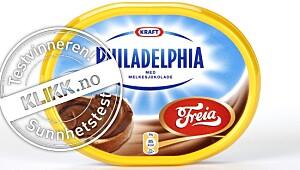 Kraft Philadelphia med sjokolade