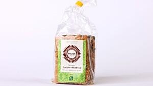 Helios – Økologisk speltknekkebrød med gresskarkjerner og ost