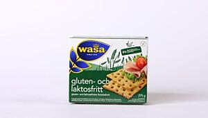 Wasa – Gluten- och laktosfritt