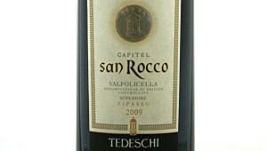 Capitel San Rocco Valpolicella Superiore Ripasso 2009