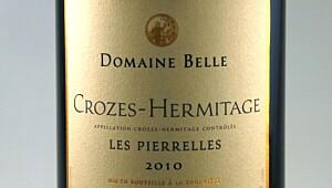 Belle Crozes-Hermitage les Pierelles 2010