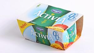 Danone Activia 0 % fett 0 % tilsatt sukker