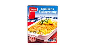 Findus Familiens Fiskegrateng
