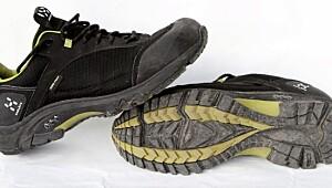 Test av lave sko med membran Tester