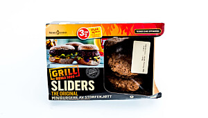 Rema1000 original sliders miniburger