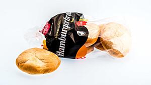 Norgesbakeriet hamburgerbrød