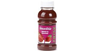 Smoothie jordbær og bringebær