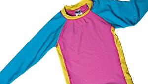 Todelt dress i polyamid/elastan fra Lindex. UPF 40+