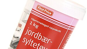 First Price jordbærsyltetøy